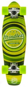 Longboard Mindless Stained Daily II Cruiser zielona