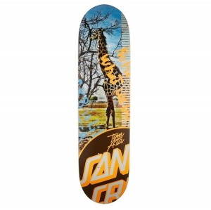Deck Santa Cruz Tom Asta Photo OP Taper Tip 8""