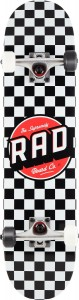 Deskorolka RAD Dude Crew Checkers black 7,5""