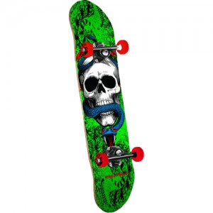 Deskorolka Powell Peralta Assy Skull & Snake One Off green 7,75""