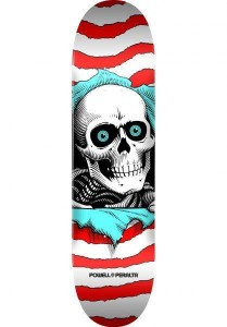 Deck Powell Peralta Ripper One Off Birch red 8""