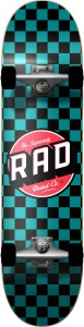 Deskorolka RAD Checkers Teal 7,25""