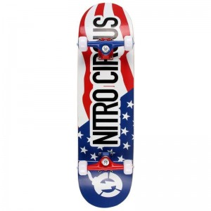 Deskorolka Nitro Circus Stars and Stripes 8""